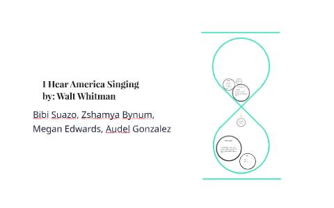 whitman i hear america singing