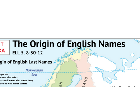 SCASD ELL Origin of English Names by nate thacker on Prezi