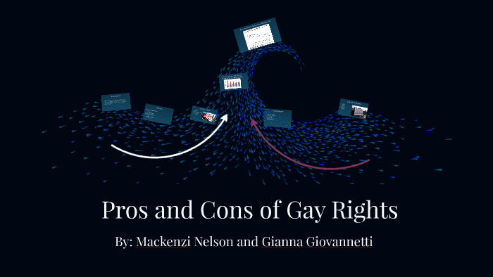 Gay right cons