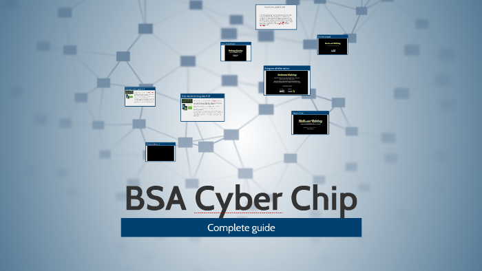 photograph relating to Bsa Cyber Chip Green Card Printable named BSA Cyber Chip by means of Jeremiah Ruff upon Prezi