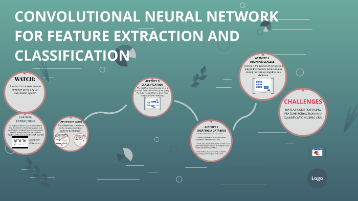 CONVOLUTIONAL NEURAL NETWORK FOR FEATURE EXTRACTION AND CLAS