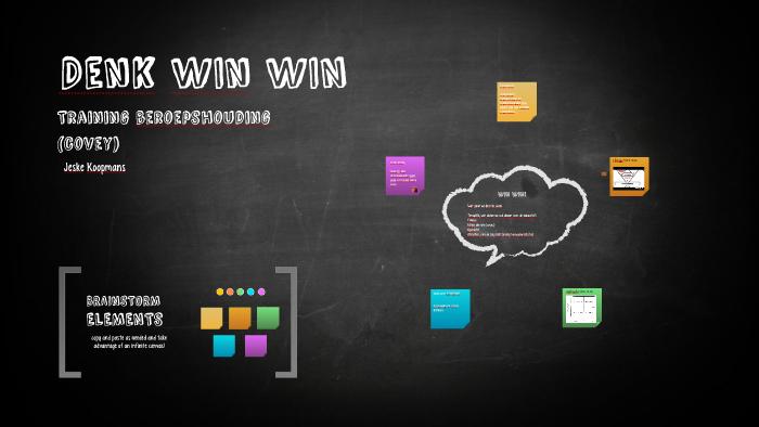 Denk Win Win By Jeske Koopmans On Prezi