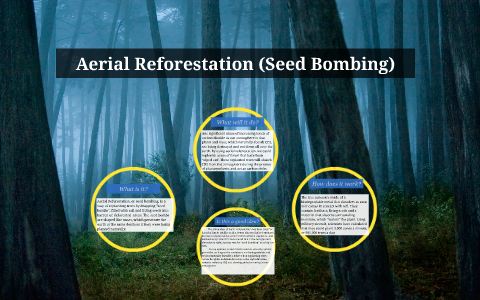 Aerial Reforestation (Seed Bombing) by on Prezi