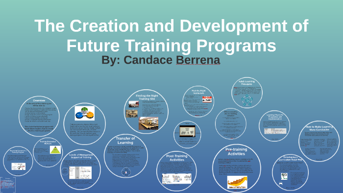 The Creation and Development of Future of Training Programs