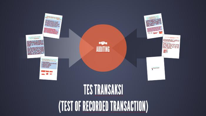 Tes Transaksi By Fajar Sandy