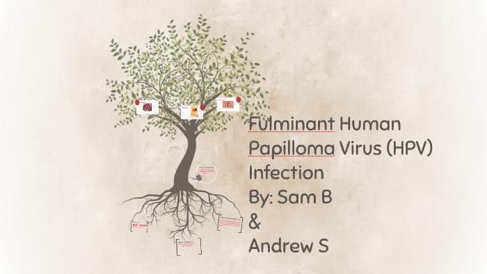 fulminant human papillomavirus hpv infection)