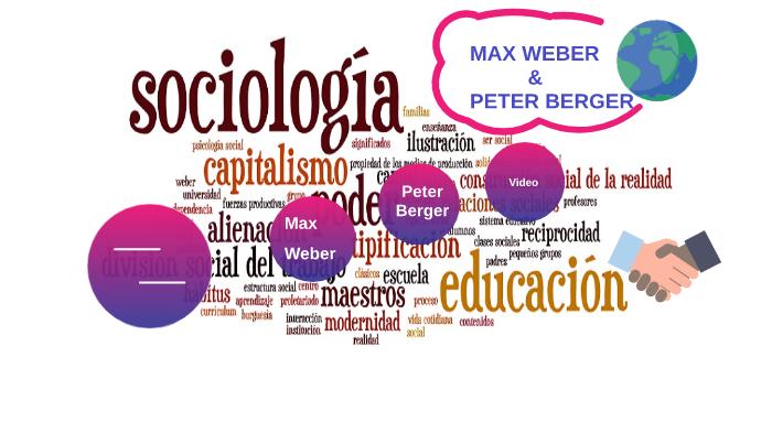 Max Weber Y Peter Berger Equipo Maravilla By Shany Juarez