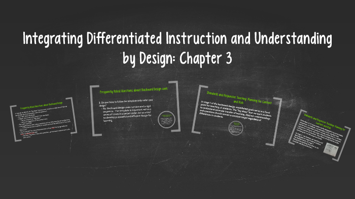 Integrating Differentiated Instruction And Understanding By By Erica Metress On Prezi