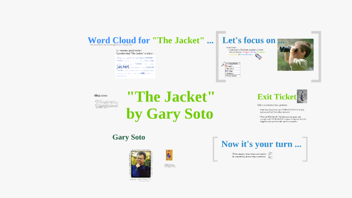 what is the theme of the jacket by gary soto