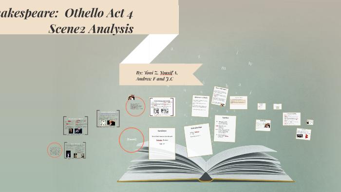 othello act 4 scene 2 analysis