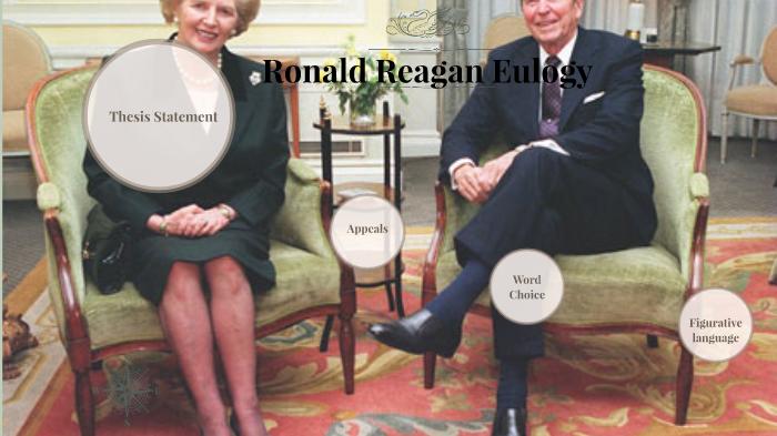 Ronald Reagan Euliogy By Andrea E