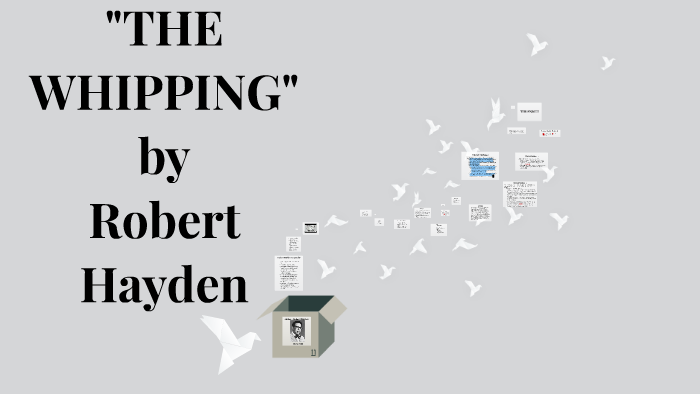 the whipping by robert hayden analysis
