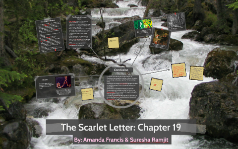 what does the brook symbolize in the scarlet letter