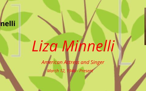 Liza Minnelli by Korie MacDougall on Prezi
