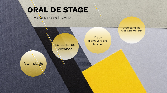 Oral De Stage By Benech Marie On Prezi Next