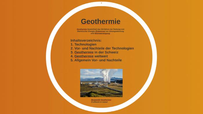 Geothermie By Susanne Mosimann On Prezi