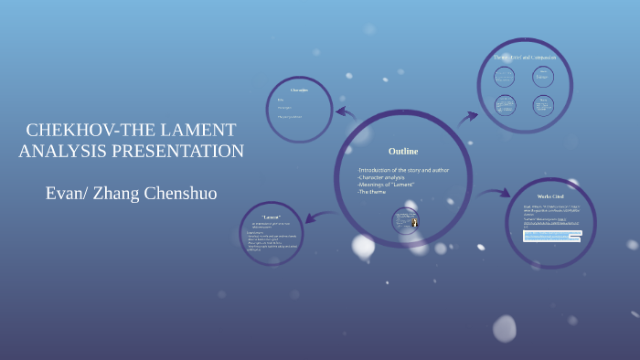 the lament by anton chekhov characters