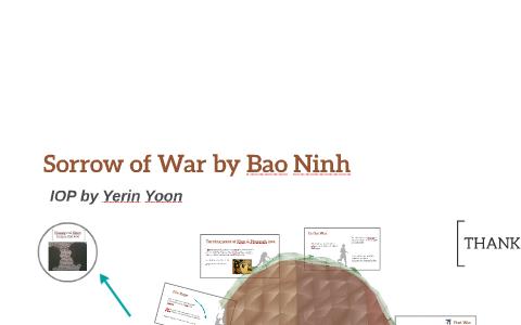 the sorrow of war bao ninh sparknotes