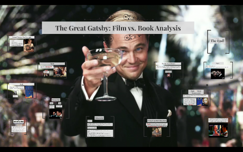 The Great Gatsby: Film vs  Book Analysis by isabel lluch on