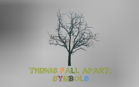 Sparknotes For Things Fall Apart Things Fall Apart Short Summary