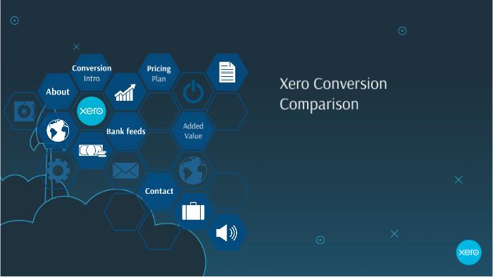 Xero conversion by Jamie Eddy on Prezi Next