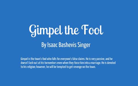 gimpel the fool analysis