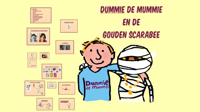 dummie de mummie en de gouden scarabee by jesper on