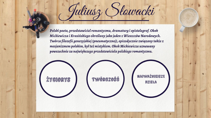 Juliusz Słowacki By Aleksandra Nowak On Prezi Next