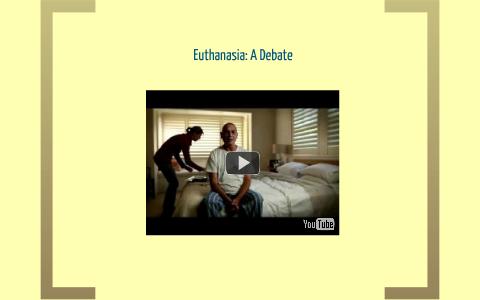 persuasive speech on euthanasia pro