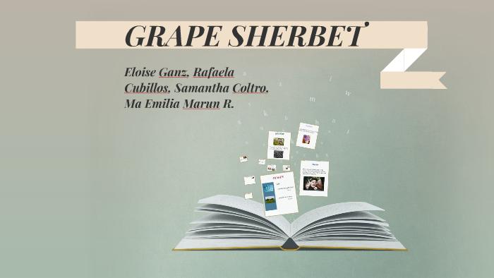 grape sherbet by rita dove analysis