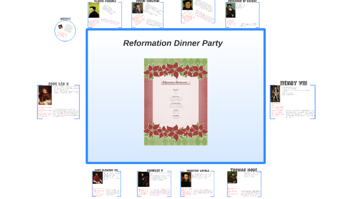 Reformation Dinner Party by Ralph Tamakloe on Prezi