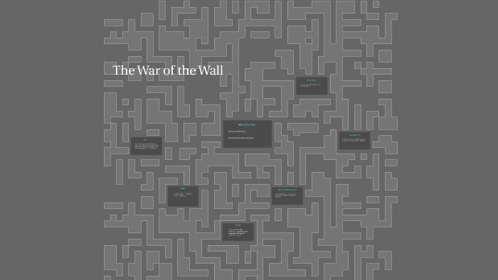 the war of the wall by toni cade bambara