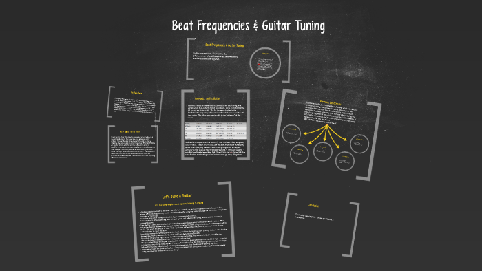 Beat Frequencies & Guitar Tuning by Greg Larson on Prezi