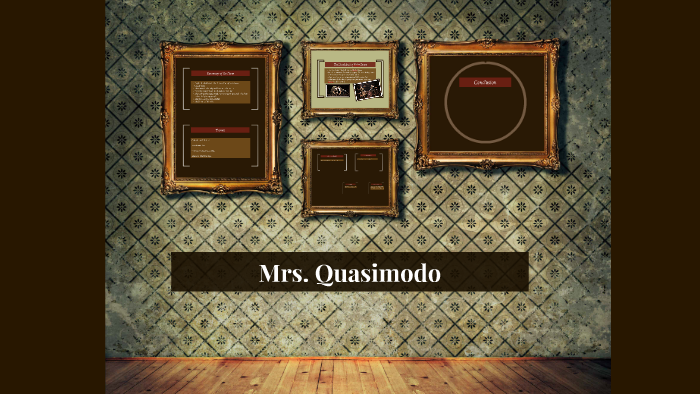 mrs quasimodo poem analysis