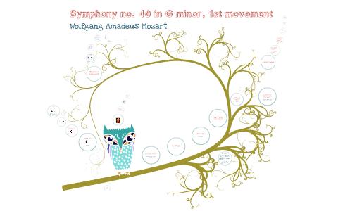 mozart symphony no 40 first movement analysis