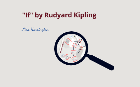 literary devices in if by rudyard kipling