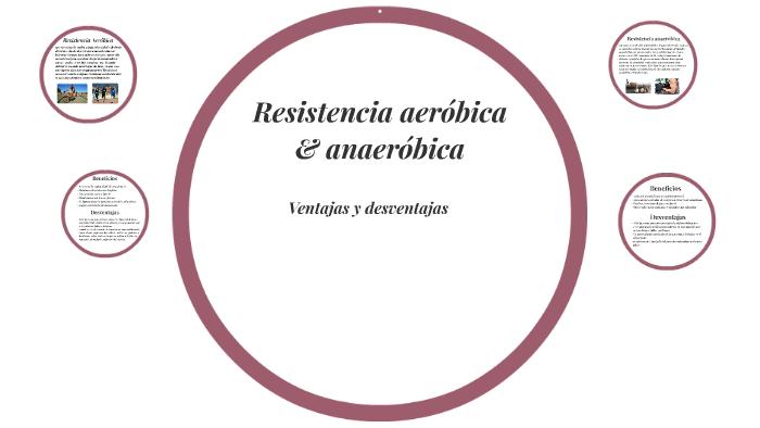 resistencia aerobica y anaerobica beneficios