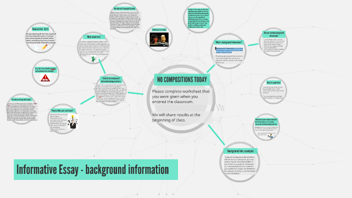 Informative Essay  Background Information By On Prezi