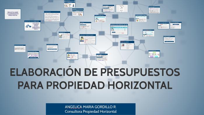Presupuestos Para Propiedad Horizontal 2015 2016 By Angelica