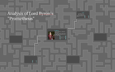 Analysis of Lord Byron's