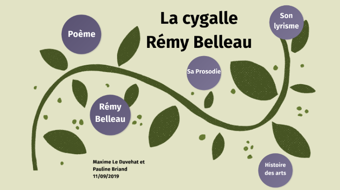 La Cygalle By Pauline Briand On Prezi Next