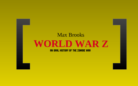 world war z redeker plan