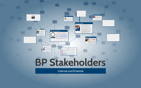 bp oil spill stakeholders affected