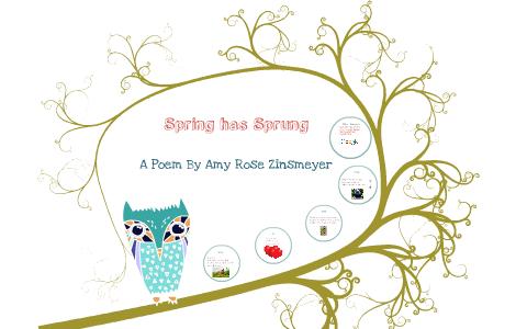 Spring Has Sprung By Amy Zinsmeyer On Prezi