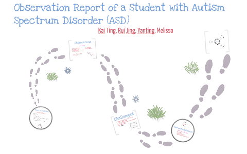 Observation Report of a Student with Autism Spectrum