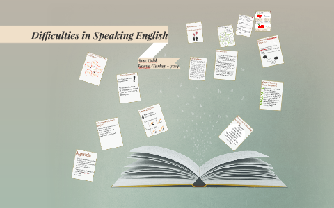 difficulties in speaking english