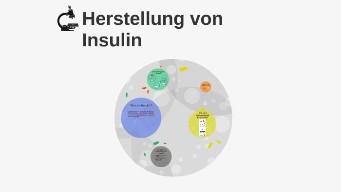 Insulin Hersteller