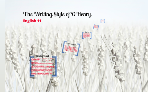 o henry style of writing