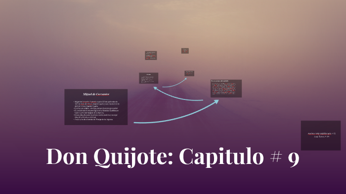 Don Quijote Capitulo 9 By Andrea Ortiz
