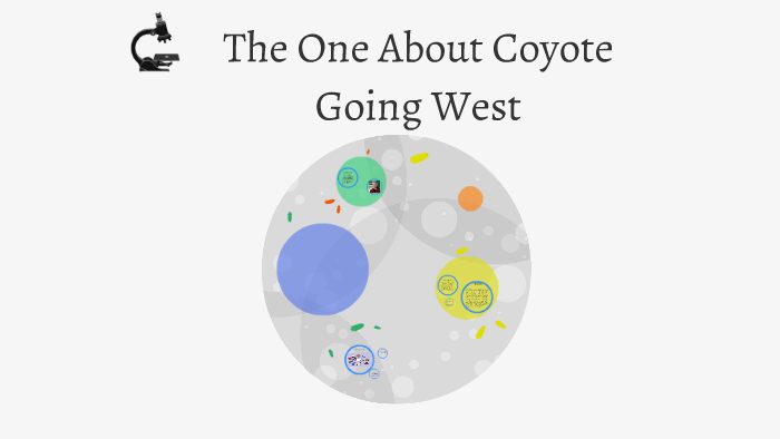 the one about coyote going west